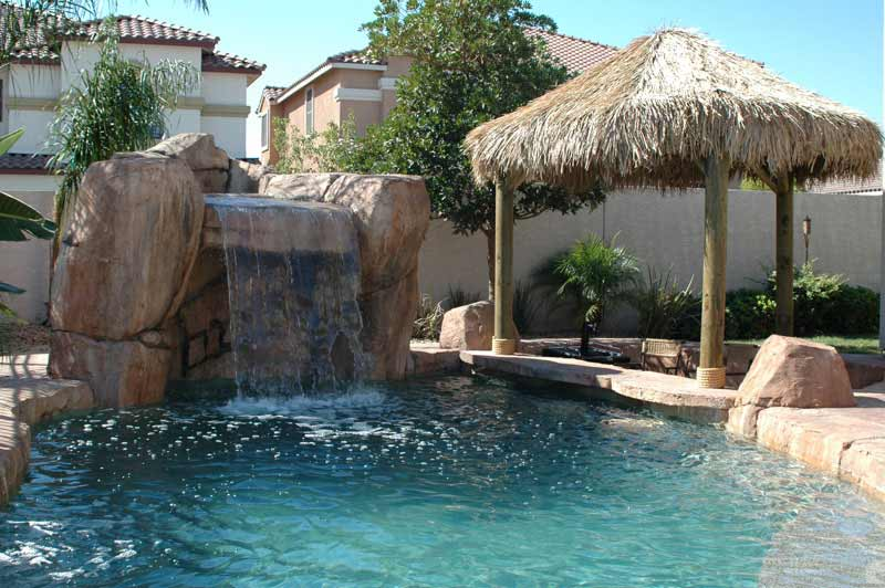 Design options by arizona falls las vegas for Pool design with swim up bar