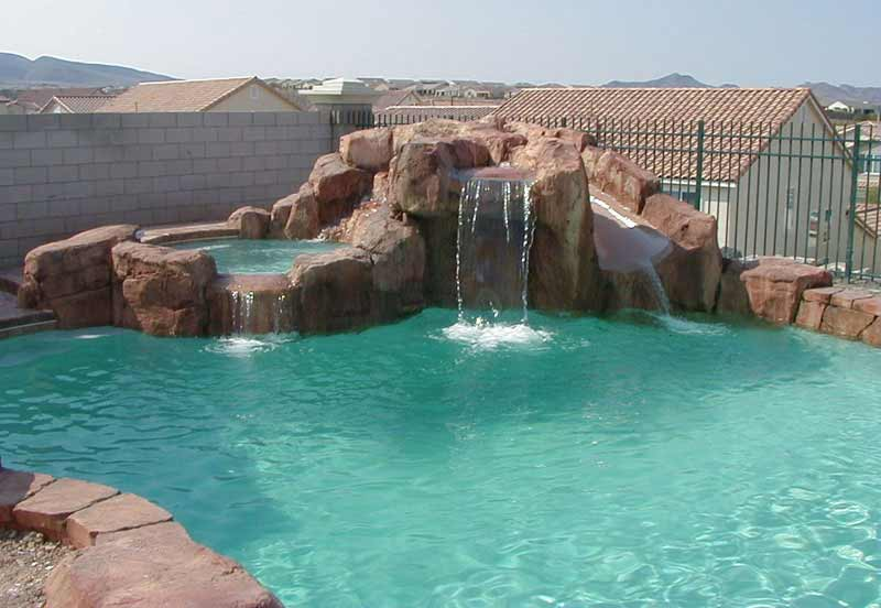 swimming pools with grottos - Swimming Pools With Grottos