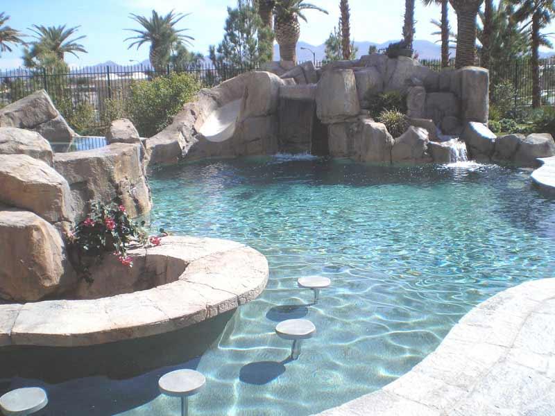 Home Pool Bar Designs I